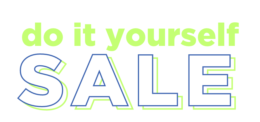 The do-it-yourself sale