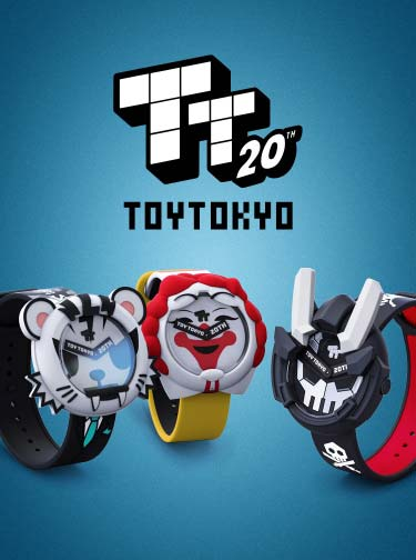 Limited Edition Toy Tokyo Watch Series