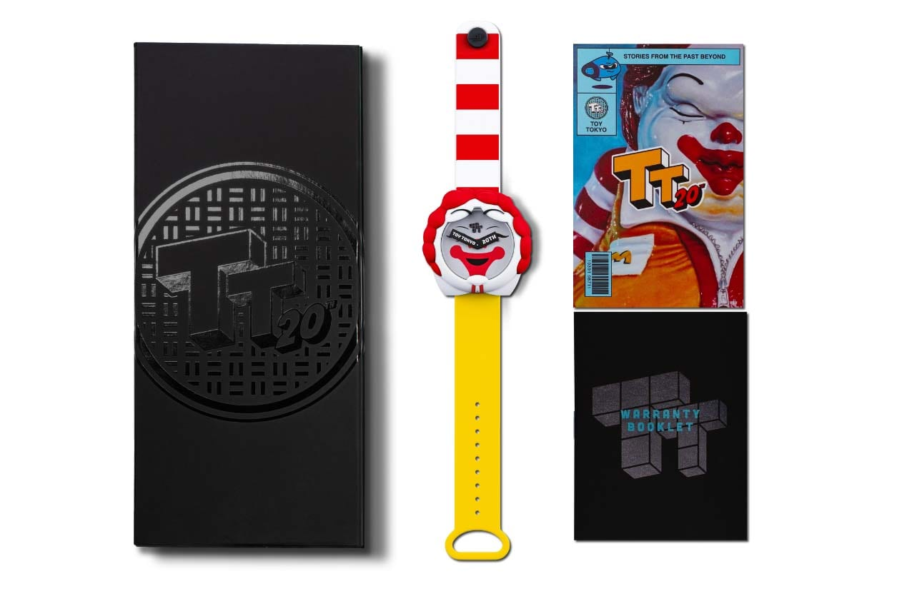 Limited Edition Toy Tokyo Watch Set