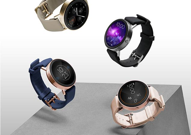Four Misfit Vapor Smartwatches